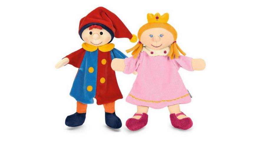 Sterntaler Handpuppen Set Kasper und Prinzessin