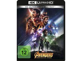 Avengers Infinity War 4K Ultra HD Blu ray 2D