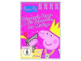 Peppa Pig Prinzessin Peppa Sir Schorsch der Mutige