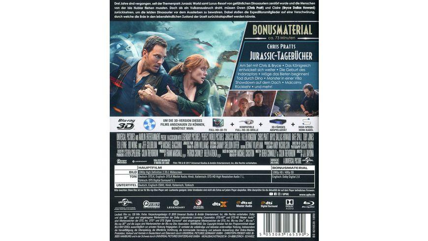 Jurassic World Das gefallene Koenigreich Blu ray 2D