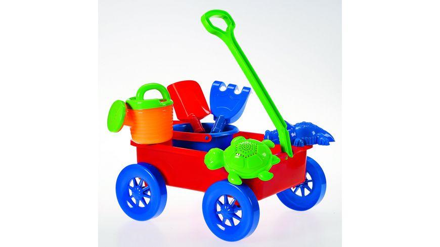 Mueller Toy Place Sandset mit Wagen 7 teilig
