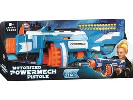 Mueller Toy Place Soft Gun Dart Blaster Motorized Powermech Pistole