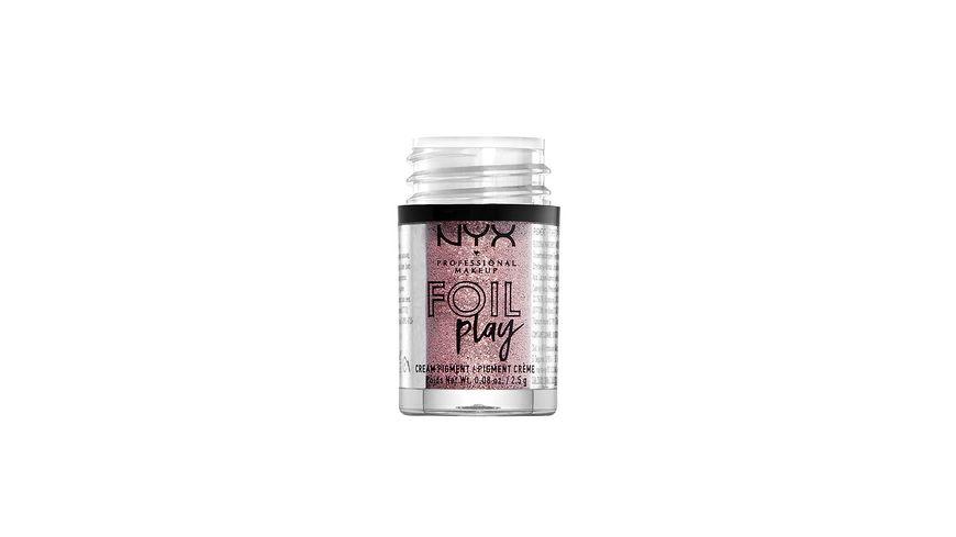 NYX PROFESSIONAL MAKEUP Pigmente Foil Play Cream Pigment
