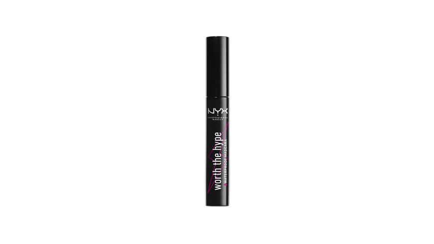 NYX PROFESSIONAL MAKEUP Wimperntusche Worth The Hype Waterproof