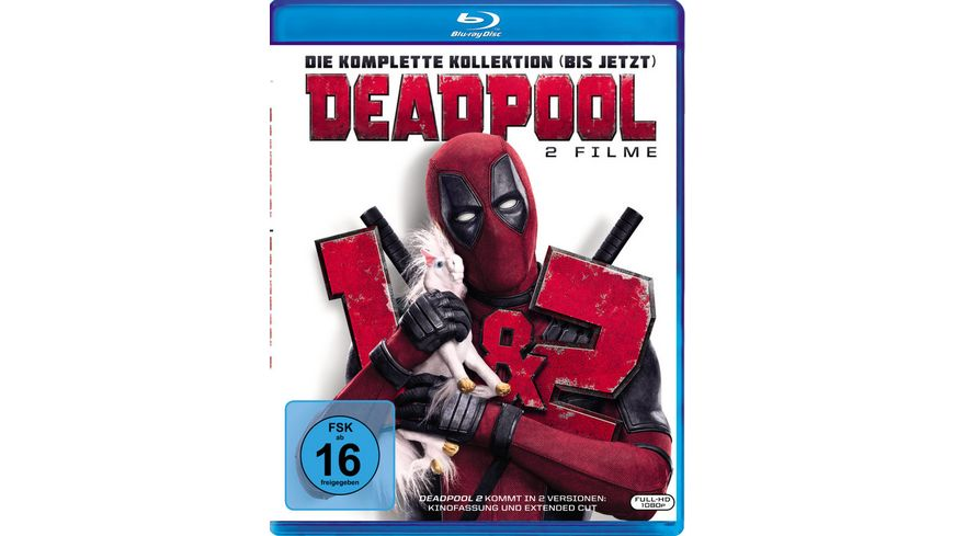 Deadpool 1 2 3 BRs