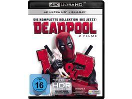 Deadpool 1 2 3 Blu rays 4K Ultra HD 3 Blu rays 2D