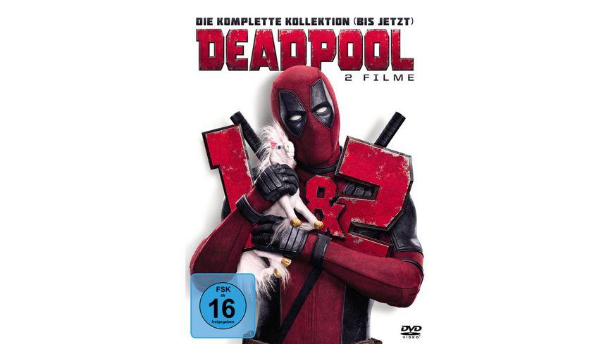 Deadpool 1 2 2 DVDs