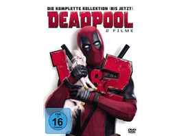 Deadpool 1 2 2 DVDs