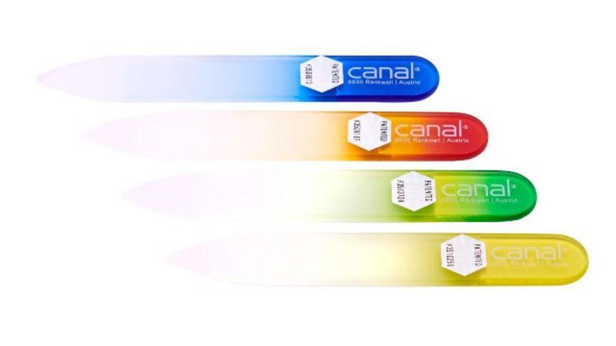 canal Hartglasfeile 80 mm farbig sortiert