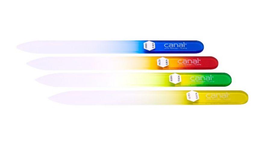 canal Hartglasfeile 140 mm farbig sortiert
