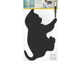 Securit Kreidetafel Katze