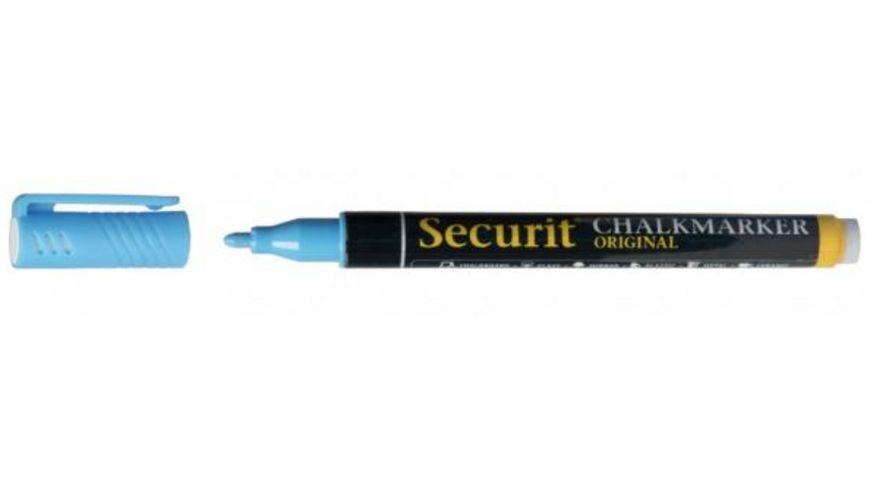 Securit Kreidestift blau 1 2mm