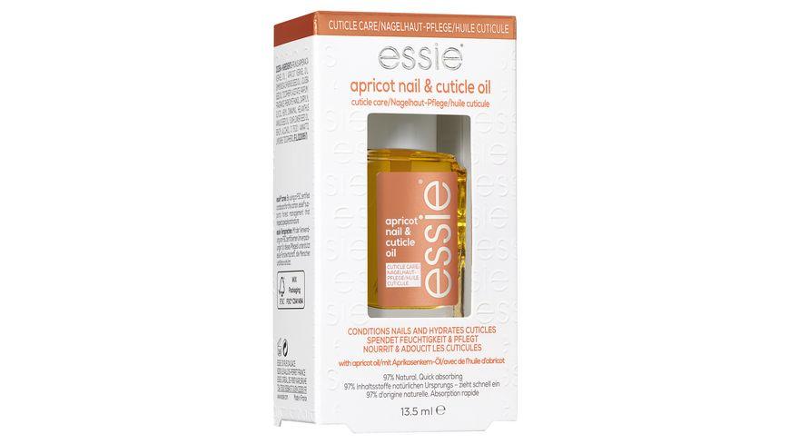 Essie Nagelpflege Nageloel apricot nail cuticle oil