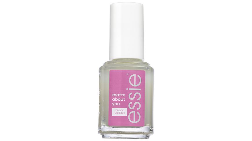 Essie Nagelpflege Ueberlack matte about you