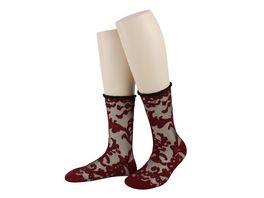 MOVE UP Damen Socken Netz Arabesque