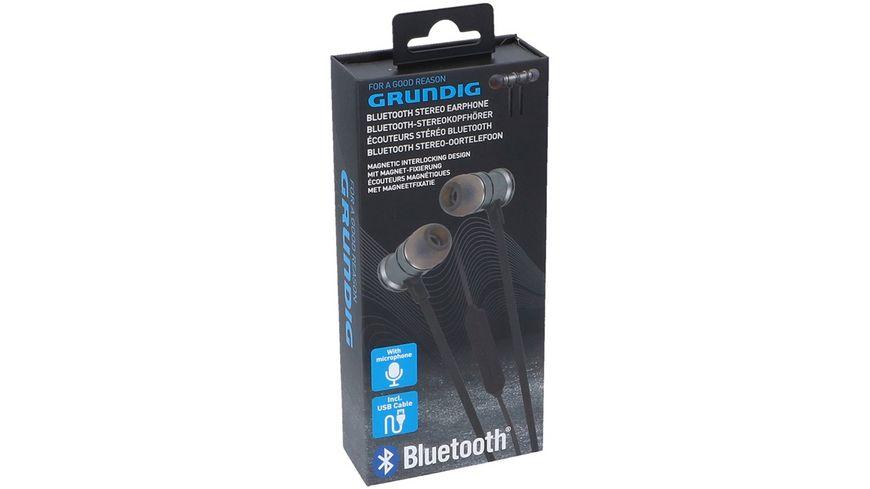 GRUNDIG Bluetooth Ohrhoerer Schwarz