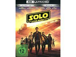 Solo A Star Wars Story 4K Ultra HD Blu ray 2D Bonus Blu ray