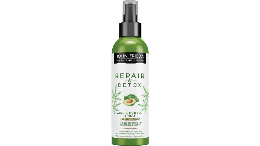JOHN FRIEDA Repair Detox Care Protect Spray mit Hitzeschutz