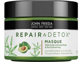 JOHN FRIEDA Repair Detox Masque