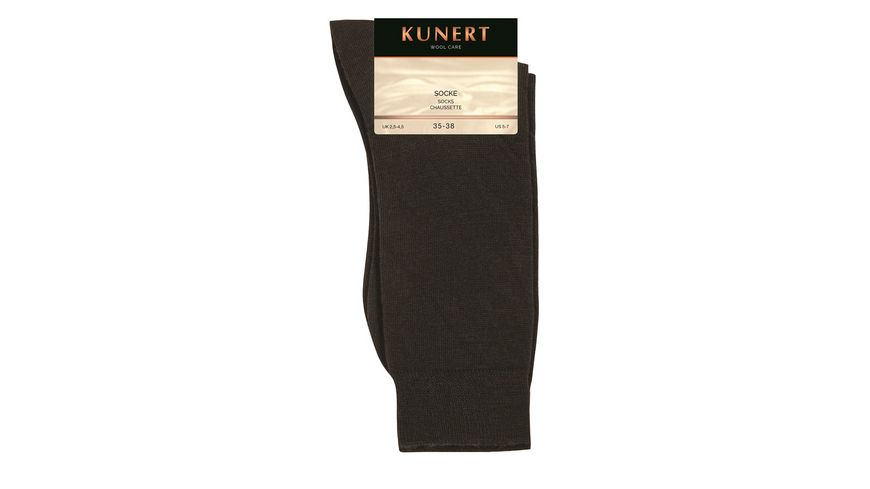 KUNERT Socken WOOL CARE mit Wolle