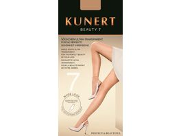 KUNERT Feinsoeckchen BEAUTY 7 ultra transparent