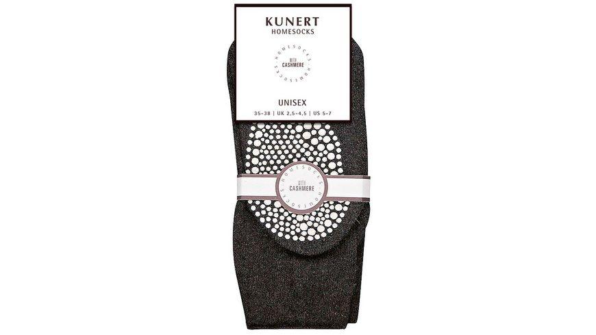 KUNERT Socken HOMESOCKS mit ABS
