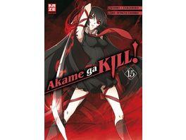 Manga Akame ga KILL Manga Band 15 Finale