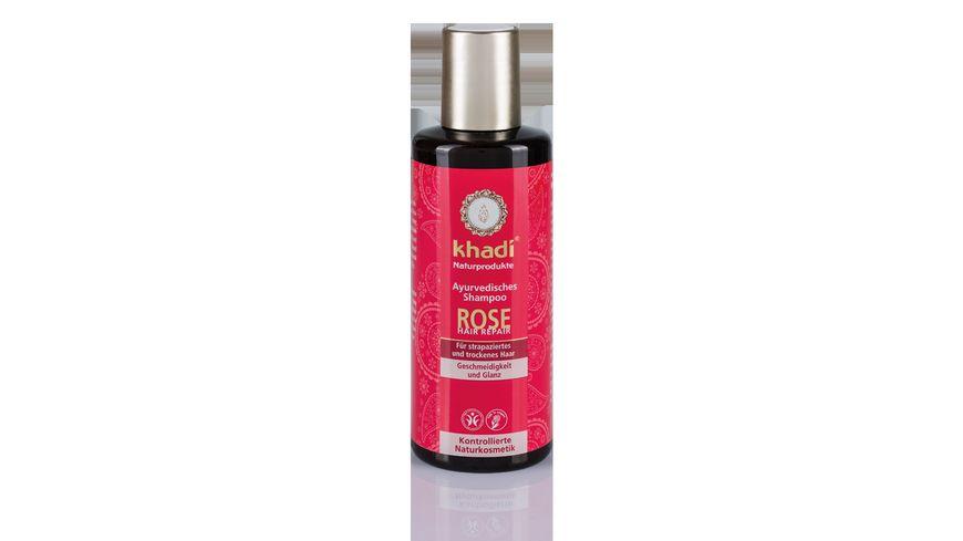 khadi Rose Hair Repair Shampoo
