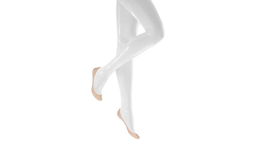 KUNERT Damen Füßlinge Ballerina Velvet