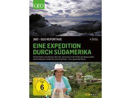Eine Expedition durch Suedamerika 360 GEO Reportage 4 DVDs