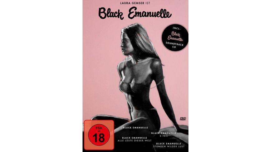 Black Emanuelle 1 4 Box 4 DVDs CD Soundtrack