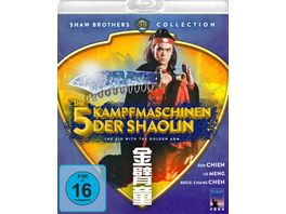 Die 5 Kampfmaschinen der Shaolin The Kid With The Golden Arm Shaw Brothers Collection Blu ray