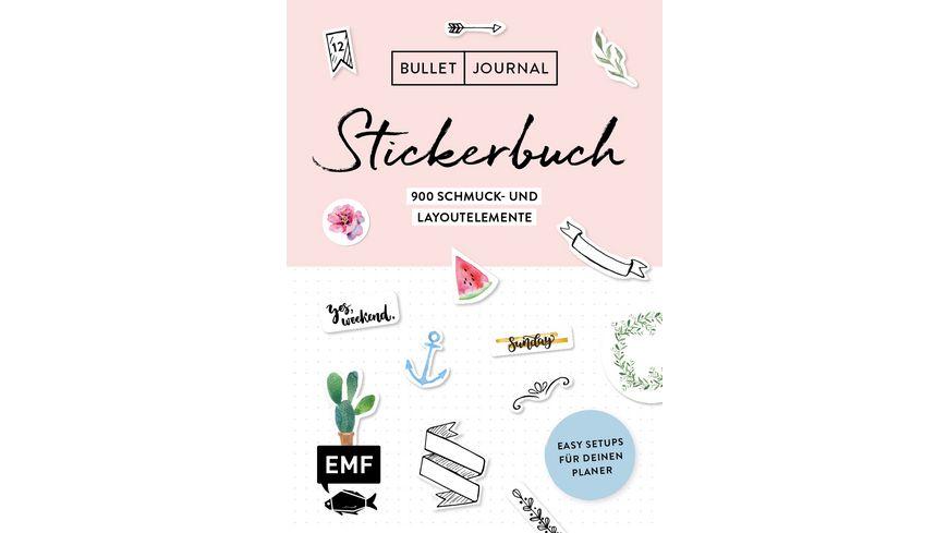 Bullet Journal Stickerbuch
