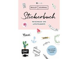 Bullet Journal Stickerbuch