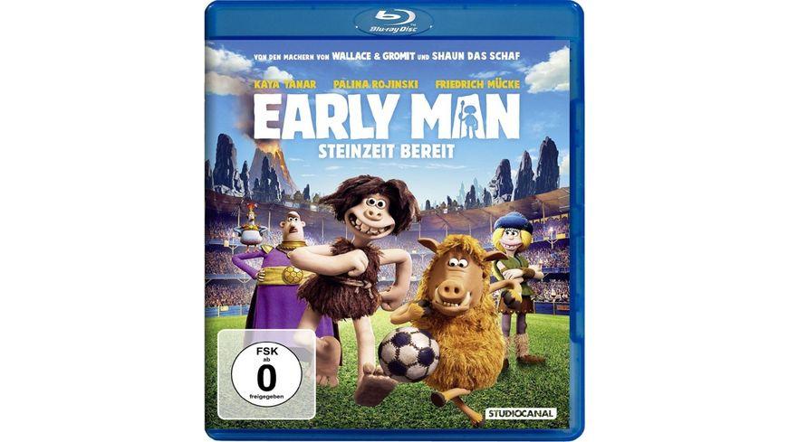 Early Man Steinzeit bereit