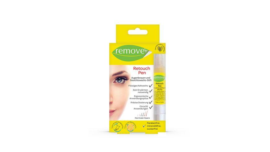 remove Retouch Pen Augenbrauen und Gesichtswachs Stift