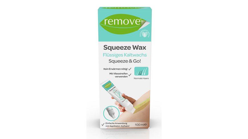 remove Squeeze Wax Squeeze Go Fluessiges Kaltwachs