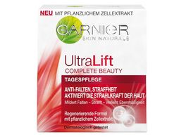 GARNIER SkinActive Ultra Lift Complete Beauty Straffende Anti Falten Tagespflege