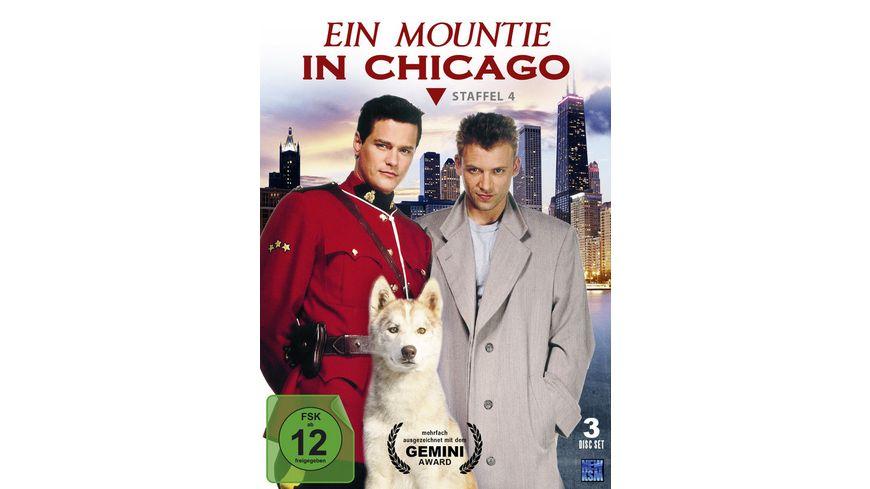 Ein Mountie in Chicago Staffel 4 3 DVDs