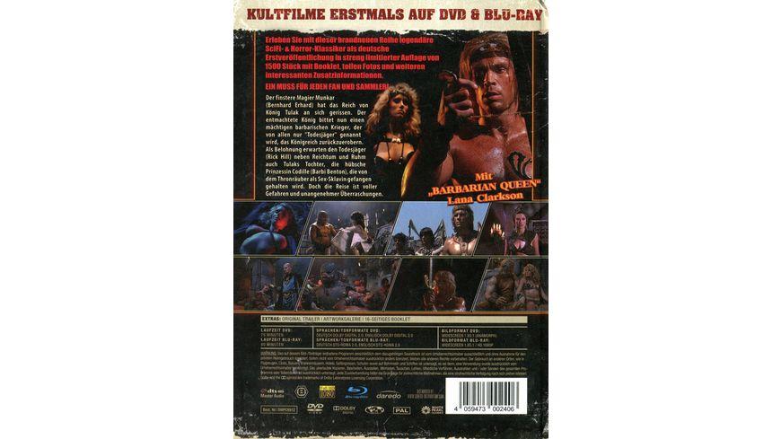Deathstalker Der Todesjaeger uncut Vintage Edition DVD Mediabook limitiert auf 1 500 Stueck inkl Booklet HD neu abgetastet