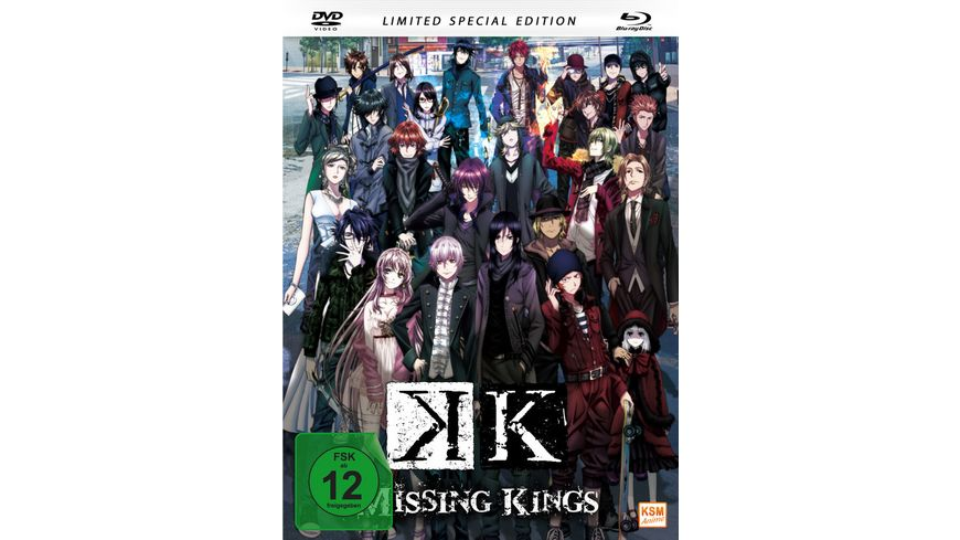K Missing Kings The Movie Limitiertes Mediabook auf 1 000 Stueck DVD