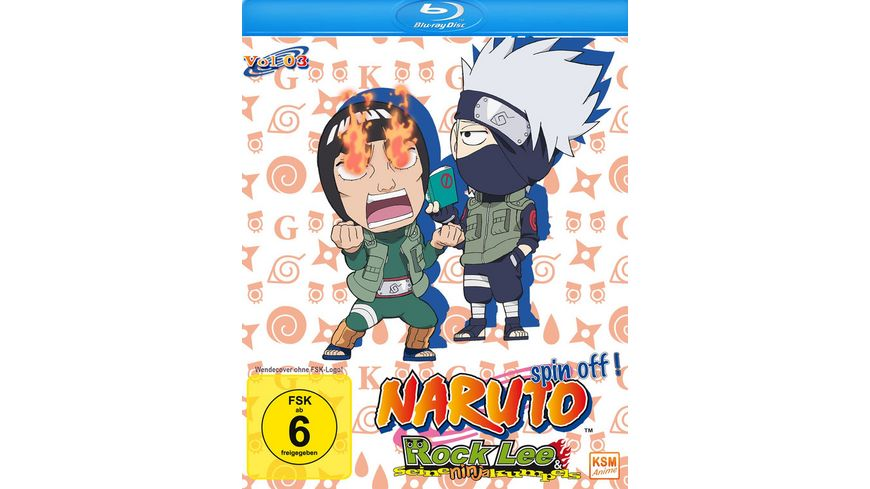 Naruto Spin Off Rock Lee und seine Ninja Kumpels Volume 3 Episode 27 39 2 BRs