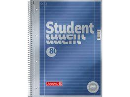Student Collegeblock A4 80 Blatt Lineatur 27 Premium