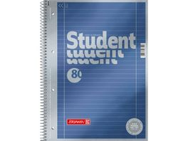 Student Collegeblock A4 80 Blatt liniert 27 Premium