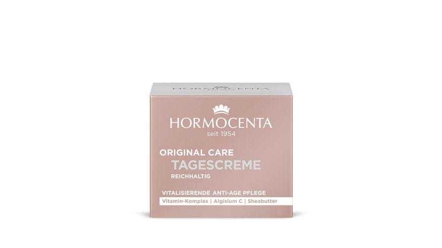 HORMOCENTA ORIGINAL CARE Vitalisierende Anti Age Tagespflege mit Vitamin Komplex Disteloel und Bienenwachs