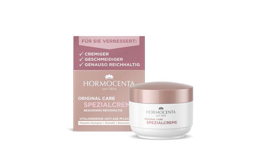 HORMOCENTA ORIGINAL CARE Vitalisierende Anti Age Pflege mit Vitamin Komplex Algisium C und Sheabutter