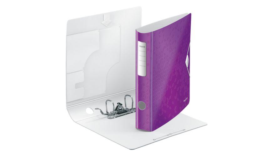 LEITZ Ordner Active Wow A4 violett