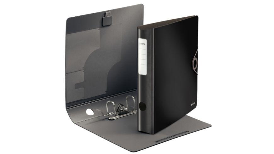 LEITZ Ordner Active Solid A4 schwarz, schmal