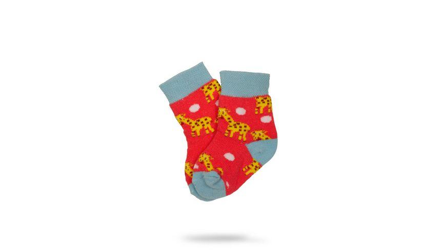 Unabux Baby Socke Giraffen