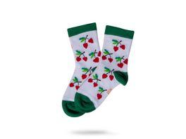 Unabux Baby Socke Cherry